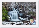 Winter * Winter Forest Waterfall Nature Pictures * (12 Slides)